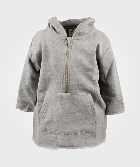 Popupshop Anorak Sweat Light Grey Sort