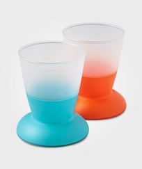 Babybjörn Glas 2-Pack Orange/Turkos Multi