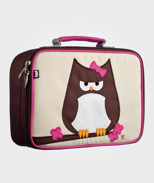 Beatrix NY Lunch Box Papar Owl BROWN