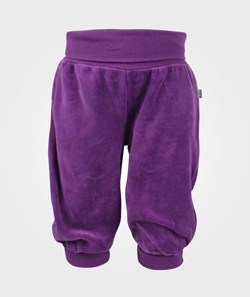 Me Too Gunde Baby Velour Pant Pansy