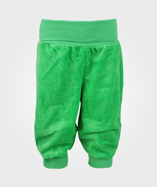 Me Too Gunde Baby Velour Pant Green Green