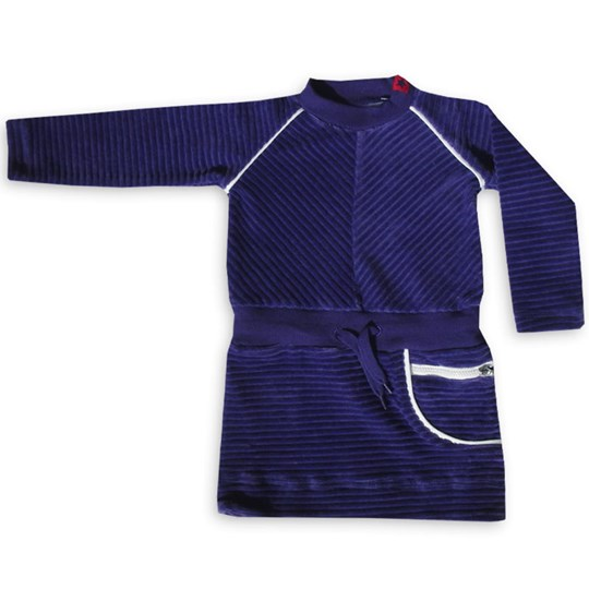 Kik Kid T-Shirt Kjole Velvet Lilla Purple