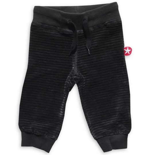 Kik Kid Trousers Velvet Dark Grey Grey