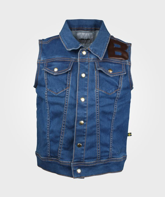 The BRAND Denim Vest Blue