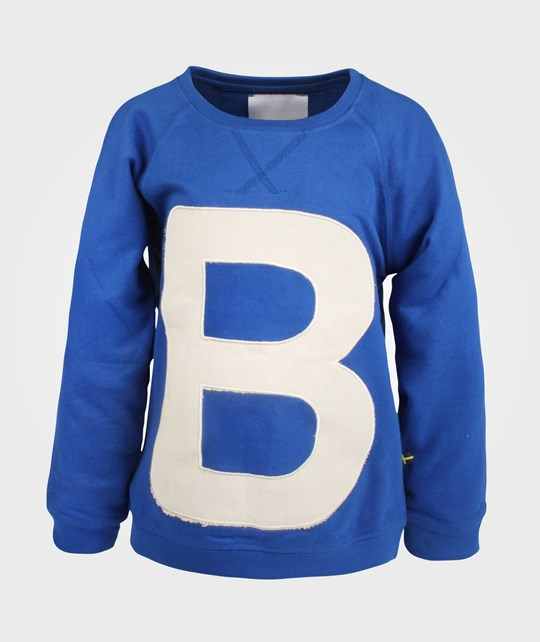 The BRAND B-College Sweater Blue Blue