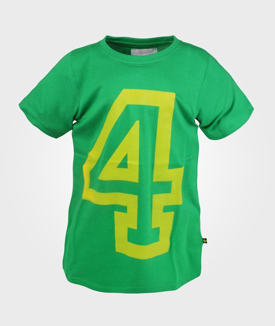 The BRAND NO-4 Tee Green Green