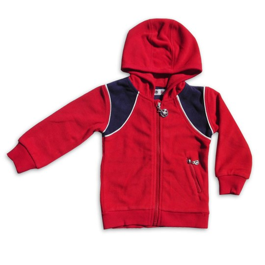 Kik Kid Jacket Fleece Red Red