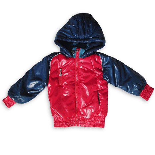 Kik Kid Winterjacket Blue/Red Red