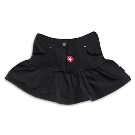 Kik Kid Skirt French Knit Dark Grey Black