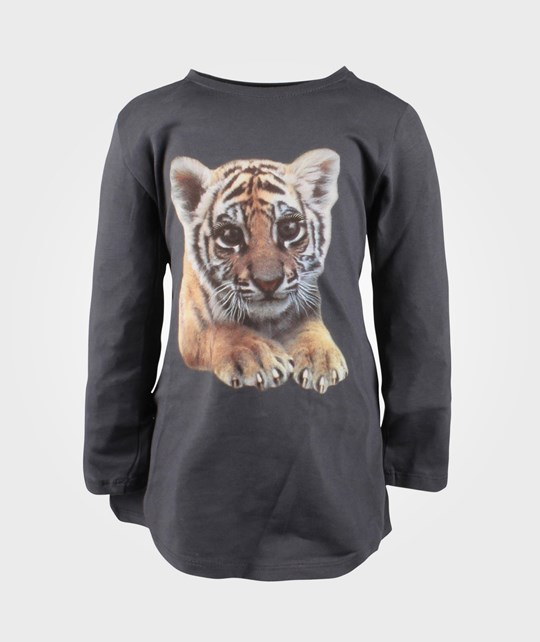 Name it Semina Mini LS Tunic Tiger Black