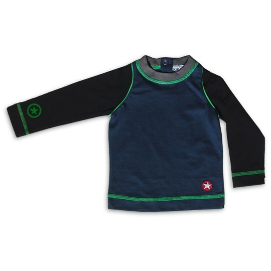 Kik Kid Tee Dark Grey LS Small Multi