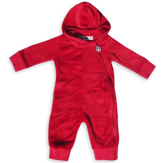Kik Kid Suit Fur Red Rød