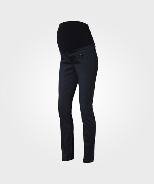 Mamalicious Shelly Black Slim Jeans Black