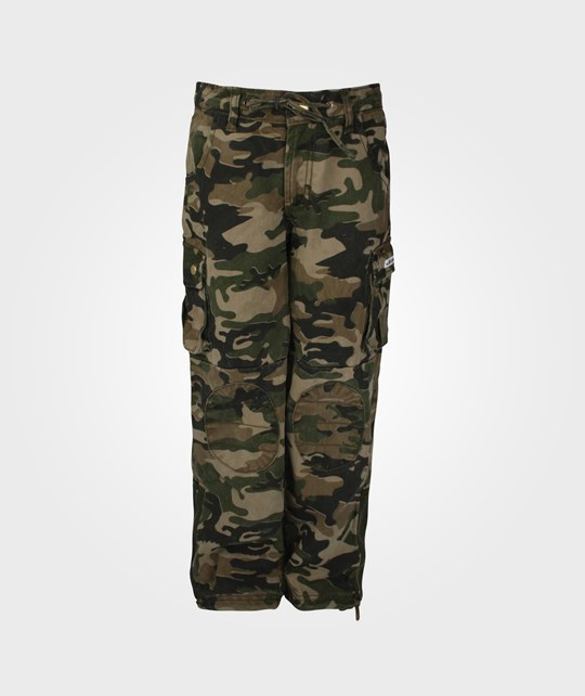 The BRAND Army Pant Camoflague Green