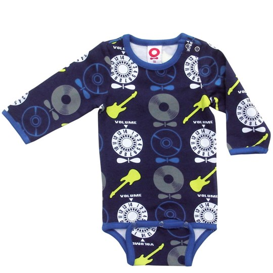 Katvig Onesie Blue/Lemon Rock Blue