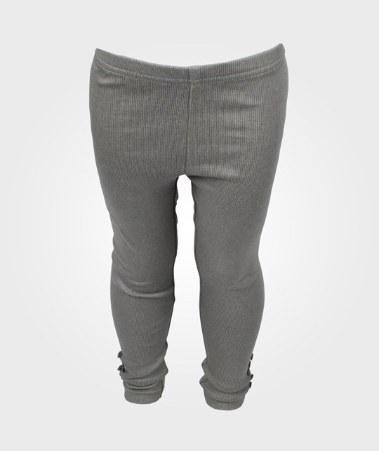Wheat Rib Leggings Lt Grey Blue Grey
