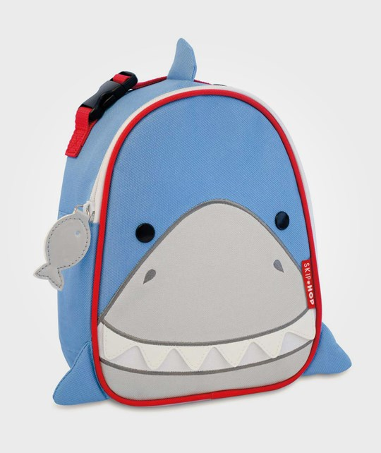 Skip Hop Zoo Insulated Lunch Bag Shark Blue