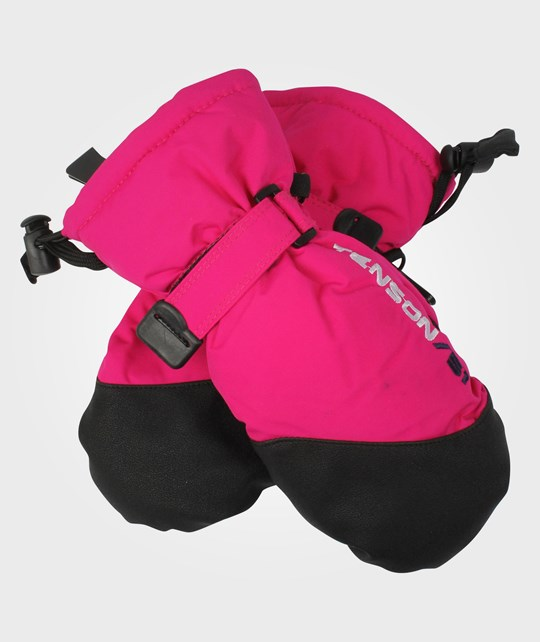 Tenson Rossi Mittens Pink Pink