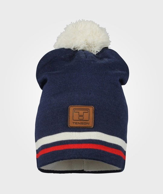 Tenson Statement Beanie Navy Blue