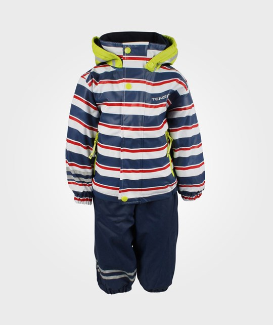 Tenson Rocket Print Rainset Navy Blue