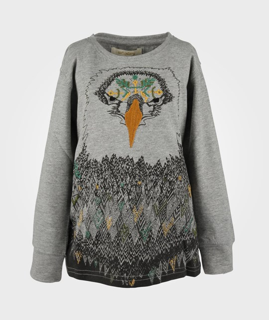 Soft Gallery Toby Tee Hawk Grey Black