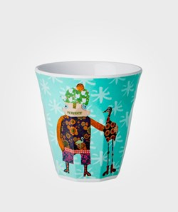 Rice Small Cup Funky Family Aqua