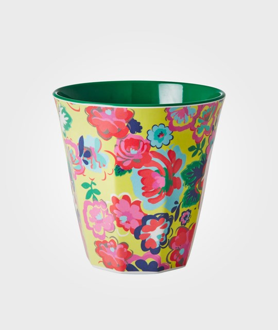 Rice Melamine Cup Eenglish Rose Multi