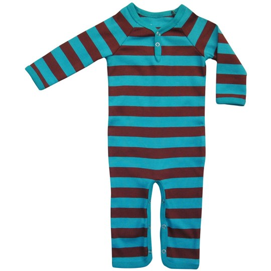 Katvig Body Suit Blue Brown Turquoise