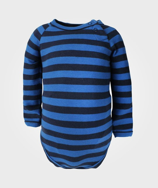 Ej sikke lej Basic Striped Body L/S Blue Blue