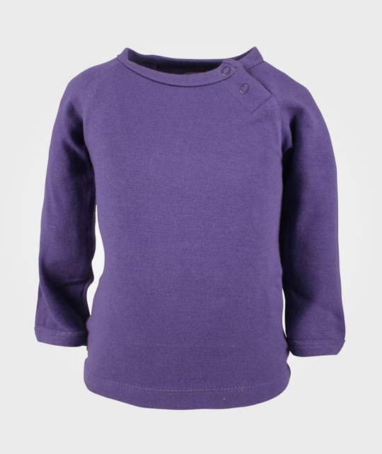 Ej sikke lej Basic Big Owl T-shirt Violet Purple
