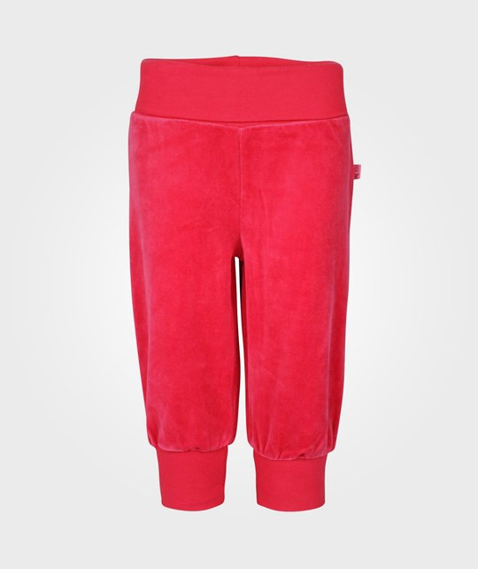 Me Too Gunde Baby Velour Pant Barberry Pink