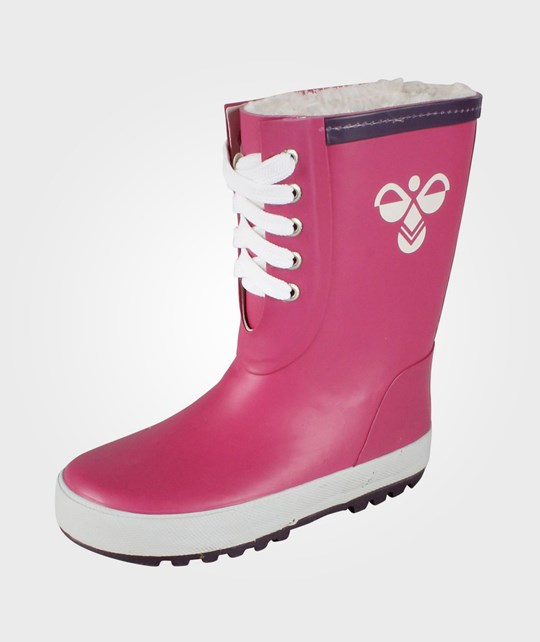 Hummel Jr Rubber Boot Warm Raspberry Pink