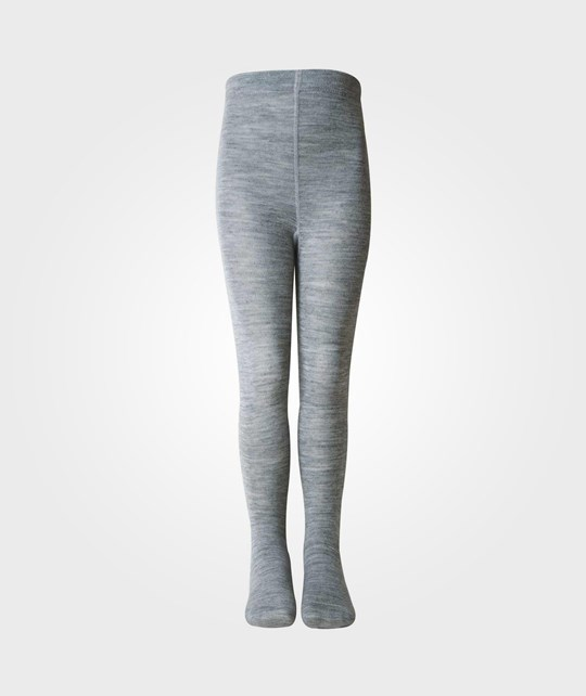 Melton Classic Basic Tights Grey Grey
