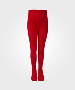 Melton Basic Tights Red