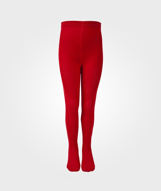 Melton Basic Tights Red Red