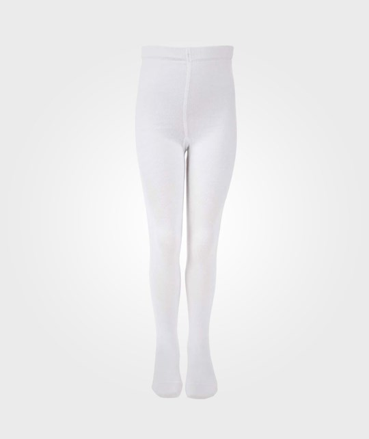 Melton Basic Tights White White