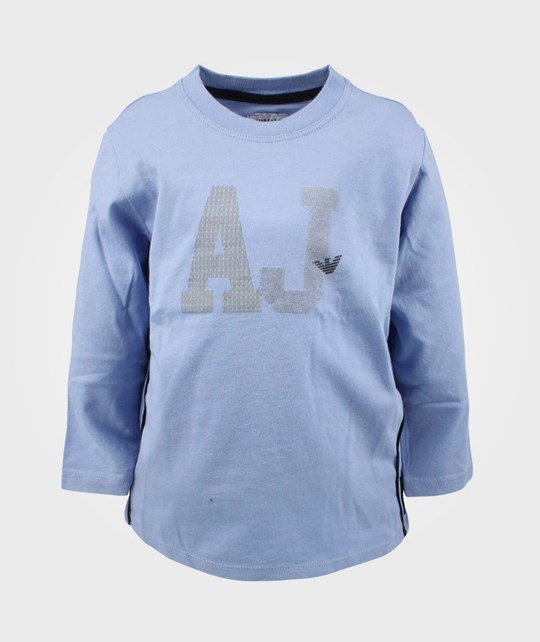 Emporio Armani T-shirt Azzuro Light Blue Blue