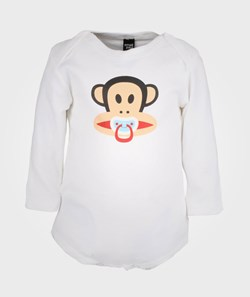 Paul Frank Body LS Pacifier White Small P