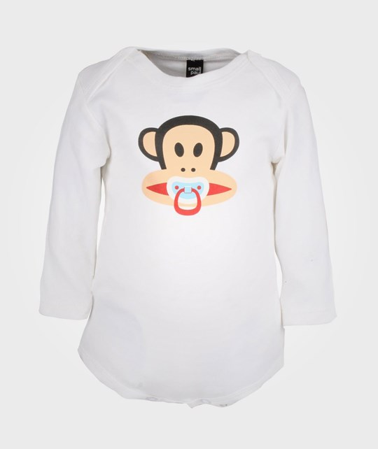 Paul Frank Body LS Pacifier White Small P White