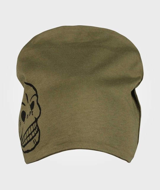 Cheap Monday Baby Jersey Hat Skull Green Green