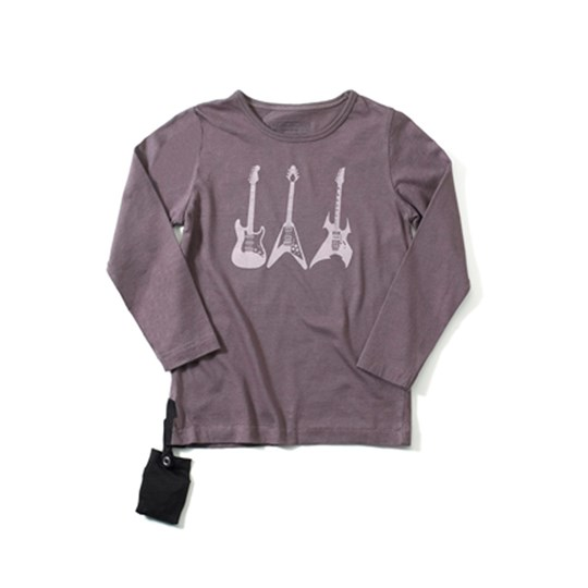 Yporqué T-shirt Guitars Mulberry Purpl Purple