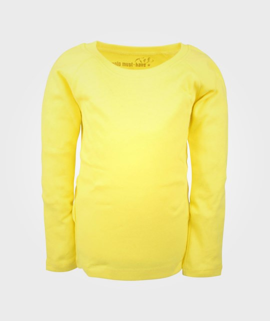 Molo Rikke LS T-shirt Lemon Sour Yellow