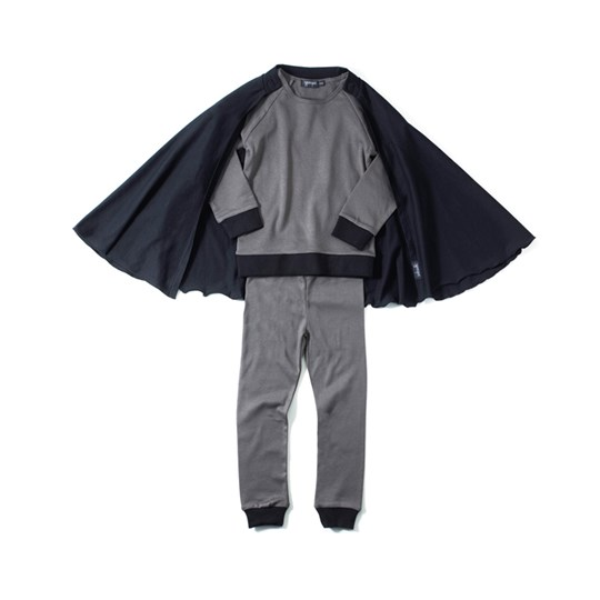 Yporqué Hero Pyjamas Anthracite Musta