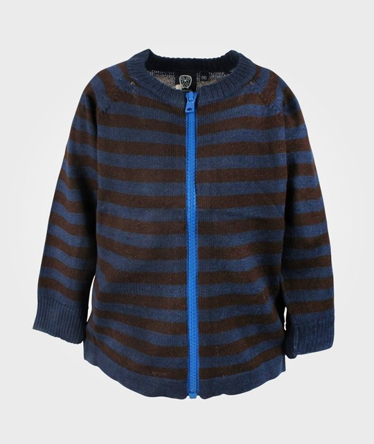Ej sikke lej Striped Knit Cardigan Insignia Blue