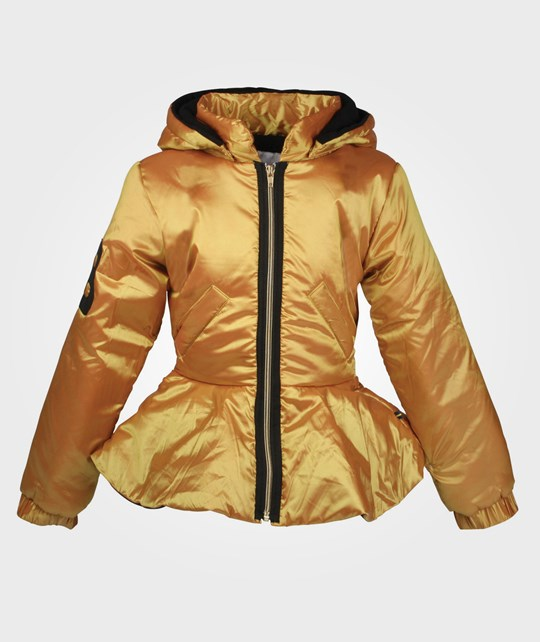 The BRAND Peeplum Jacket Gold Yellow