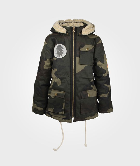 The BRAND New Winter Parka Camoflague Green
