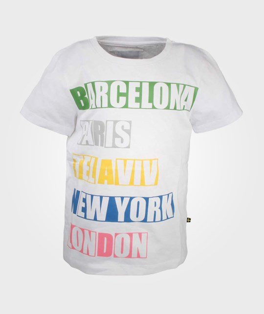 The BRAND City Tee White White