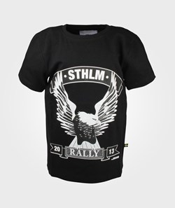The BRAND Rally Tee Washed Black