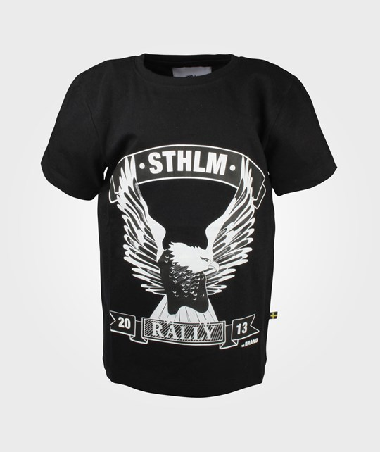The BRAND Rally Tee Washed Black Black