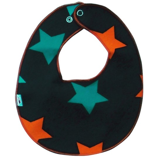 Molo Noel Bib Dark Blue Star Black